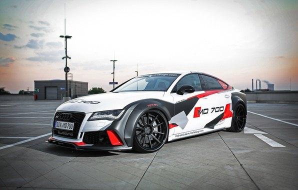 Картинка Audi, Tuning, RS7, M&D Exclusive Cardesign