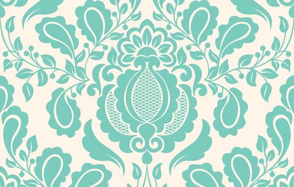 Картинка цветы, обои, узор, текстура, орнамент, vintage, element, floral, seamless, pattern .