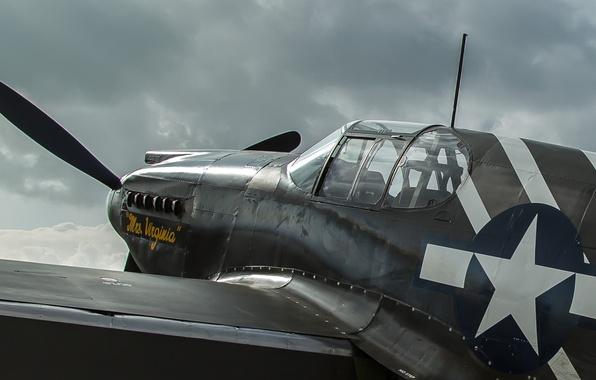 Картинка Mustang, истребитель, дальнего радиуса, P-51A