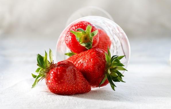 Картинка Клубника, Ягоды, Strawberry