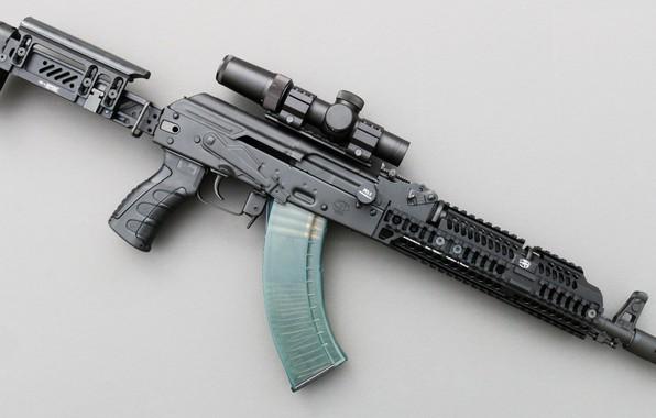 Картинка оружие, тюнинг, автомат, weapon, кастом, custom, Калашников, АКМ, Русский, AKM, штурмовая винтовка, assault Rifle