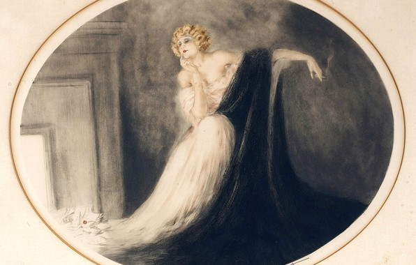 Картинка 1929, Louis Icar, Сапфо