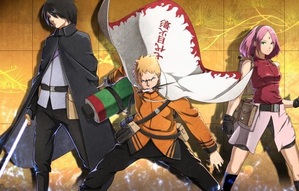 Картинка sword, game, Naruto, anime, katana, ken, blade, ninja, asian, manga, hokage, Uchiha Sasuke, shinobi, japanese, …