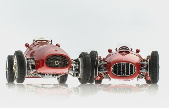 Картинка фон, Ferrari 500 F2, Lancia D50