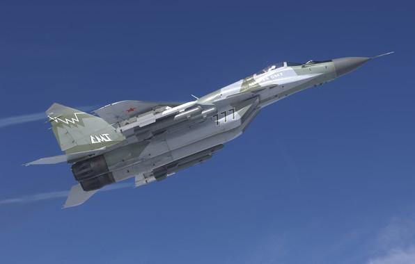 Картинка МиГ-29, фронтовой истребитель, MiG-29 fulcrum