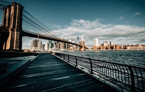Картинка город, New York, brooklyn