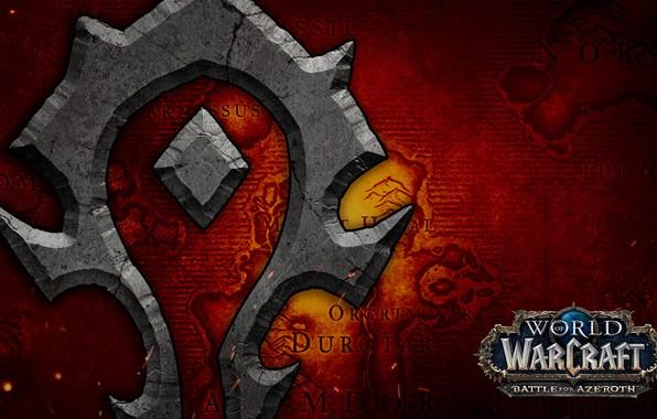 Bfa Hd Wallpaper: Обои Blizzard, Horde, World Of WarCraft, Battle For