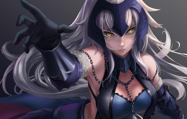 Картинка взгляд, девушка, аниме, Fate / Grand Order
