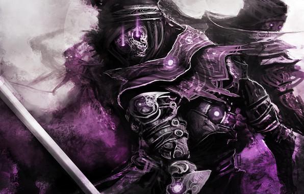 Картинка фиолетовый, theDURRRRIAN, Character Design, immortals