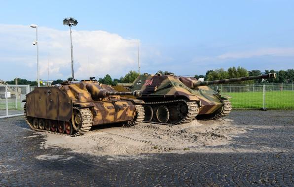 Картинка войны, бронетехника, Sturmgeschütz, Jagdpanzer, времен, второй мировой