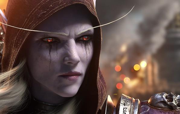 Картинка World Of Warcraft, Silvanas Windrunner, Битва за Азерот