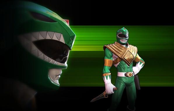 Картинка game, armor, weapon, Power Rangers, green ranger, dagger, Power Rangers: Legacy Wars, Tommy Oliver, Томми …