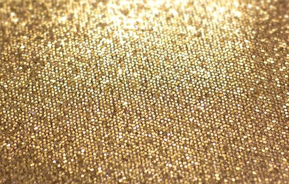 Картинка фон, блестки, golden, gold, texture, shine, glitter
