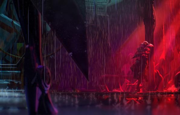 Картинка League of Legends, Project, Vayne, Hunt, Jhin