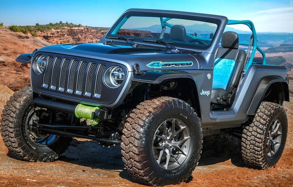Картинка Concept, 2018, Wrangler, Jeep, 4speed