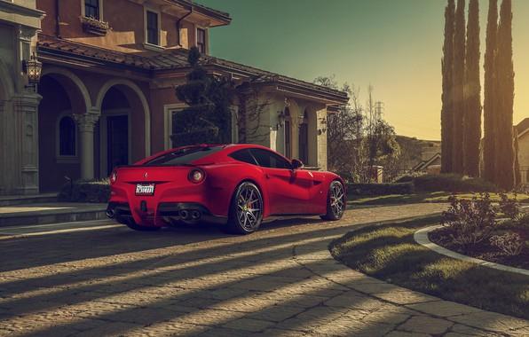 Картинка Ferrari, Berlinetta, F12, Luxury, Wheels