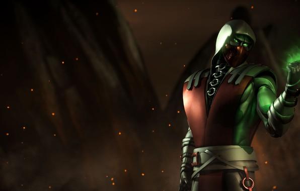 Картинка suit, crimson, Ermac, MKX, Эрмак, Мортал Комбат Х, Mortal Kombat x