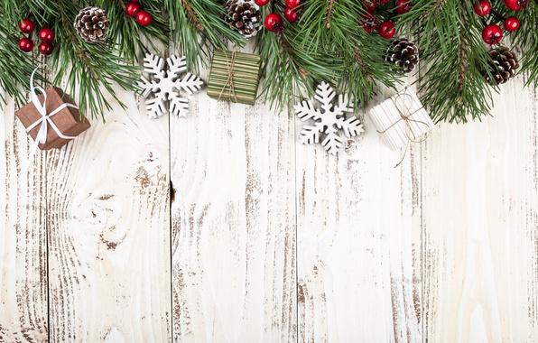 Картинка Новый Год, Рождество, wood, merry christmas, decoration