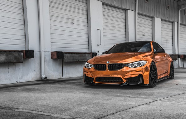 Картинка BMW, Sight, Bronze, F83