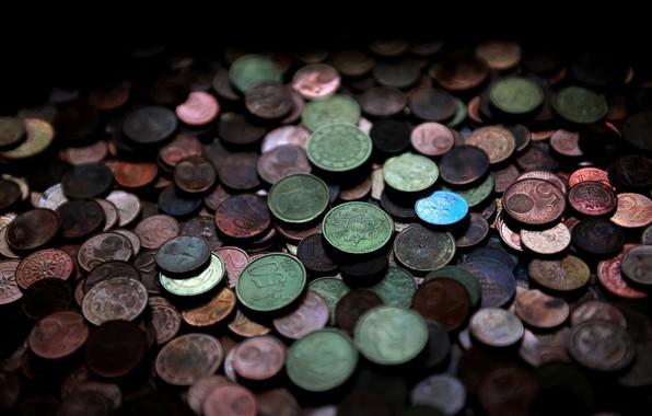 Картинка фон, деньги, монеты
