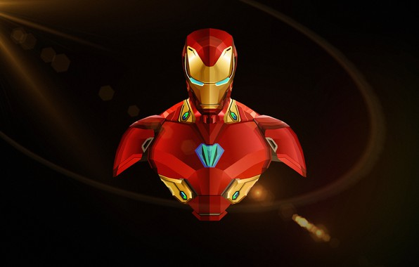 Картинка фон, фантастика, арт, Iron Man, комикс, MARVEL, Avengers: Infinity War, Мстители: Война бесконечности