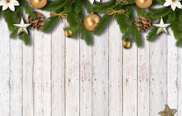 Картинка Новый Год, Рождество, wood, stars, merry christmas, decoration, xmas, fir tree