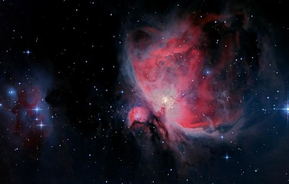 Картинка звезды, туманность, красота, Orion Nebula