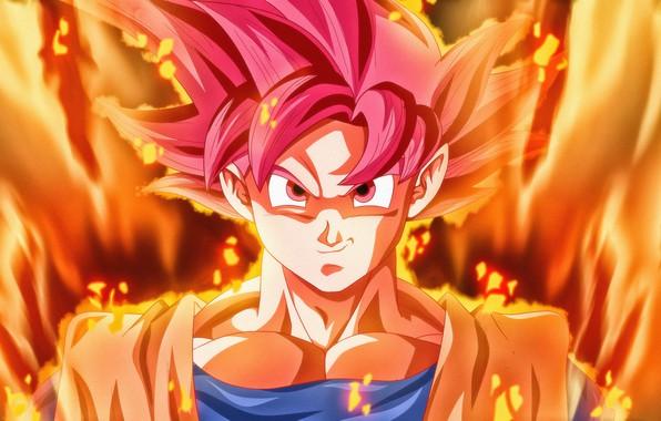 Картинка Art, Anime, Super Saiyan God