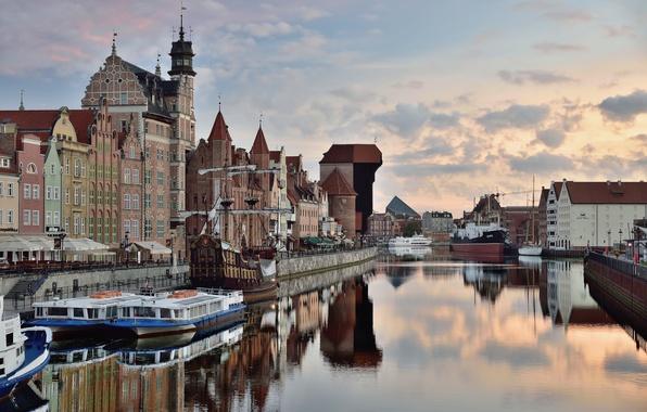 Картинка Польша, Poland, Gdansk, Гданьск