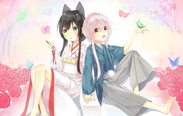 Картинка девушки, anime, art, Chiya, Kon Tatsumi, Urara Meirochou