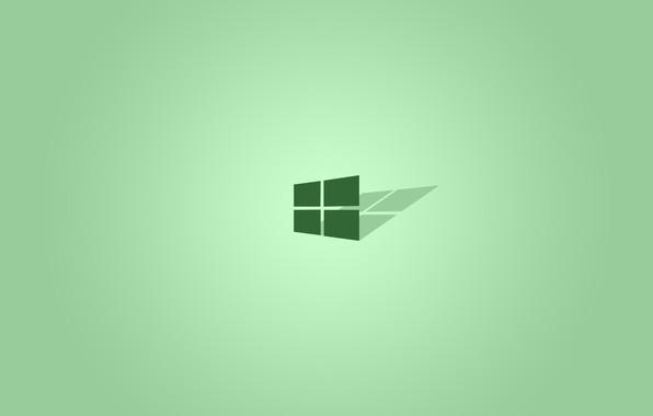Картинка логотип, эмблема, hi-tech, windows 10