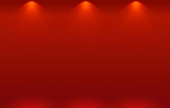 Картинка свет, абстракция, сцена, занавес, светильники