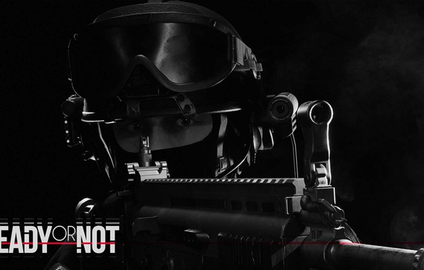 Картинка Маска, Автомат, Спецназ, Спецназовец, special forces, Балаклава, Ready Or Not