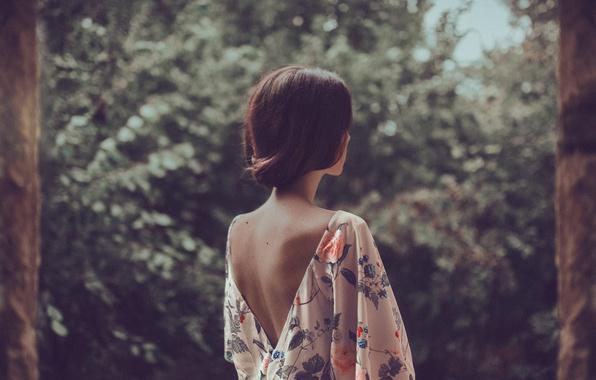 фото со спины девушек фото