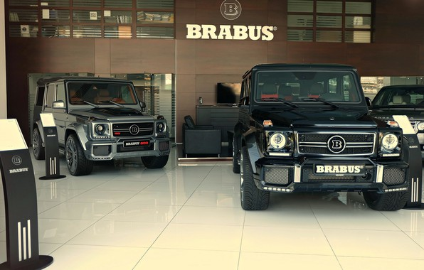 Картинка Mercedes, Brabus, AMG, G63, W463, G-class