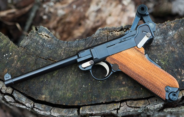 Картинка Пистолет Люгера, 9 мм, Luger Parabellum 30