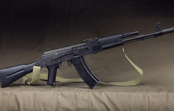 Картинка оружие, автомат, калашников, ак-74