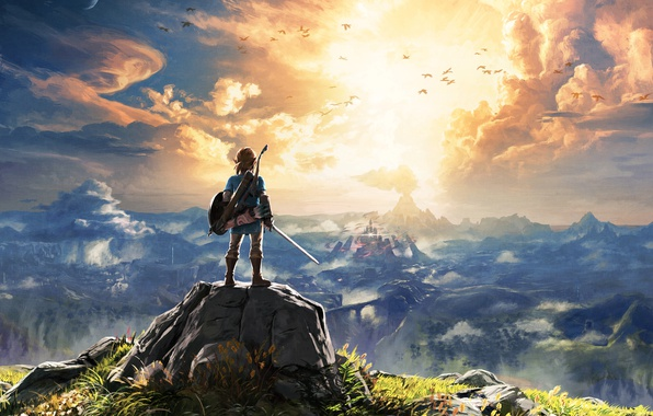 Картинка Арт, Nintendo, The Legend of Zelda, Switch, The Legend of Zelda: Breath of the Wild, …