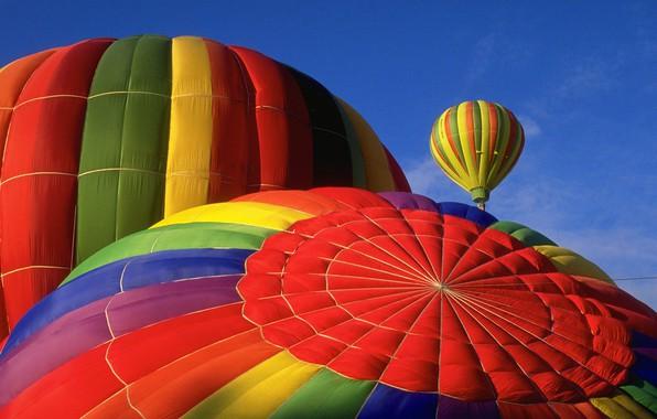 Картинка colors, colorful, sport, sky, photography, bokeh, balloon, Hot air balloons, aerostats