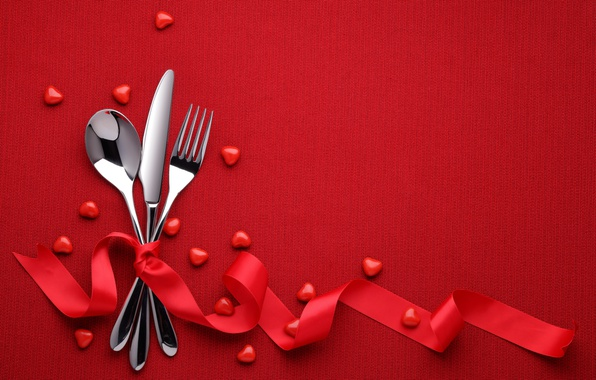 Картинка red, love, heart, background, romantic, valentine's day