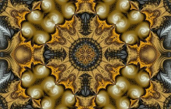 Картинка узор, текстура, фрактал, симметрия