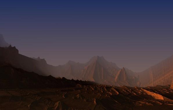 Картинка desert, 2017, Mandelbulb3D, alievgraph