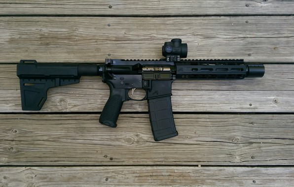 Картинка ar15, rifle, assault rifle