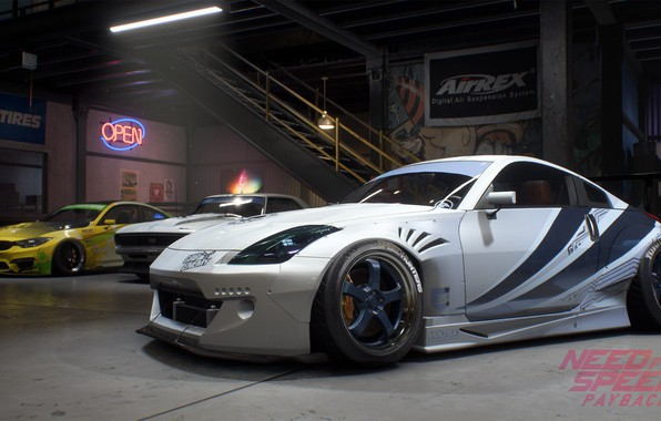Картинка Nissan 350Z, NFS, Electronic Arts, Need For Speed, 2017, Need For Speed: Payback