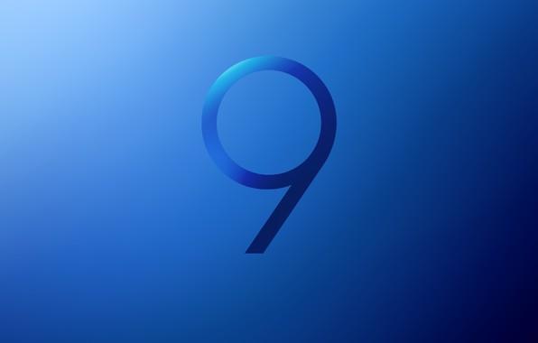 Картинка Samsung, Galaxy S9, Stock Blue