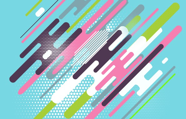 Картинка colorful, Abstract, design, with, background, flat, Dots, Geometric