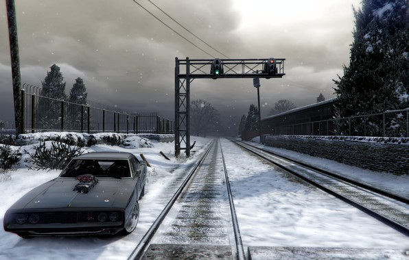 Картинка car, dodge, GTA 5, mods, NorthYankton