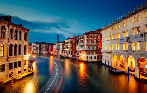 Картинка Венеция, Venice, Grand Canal