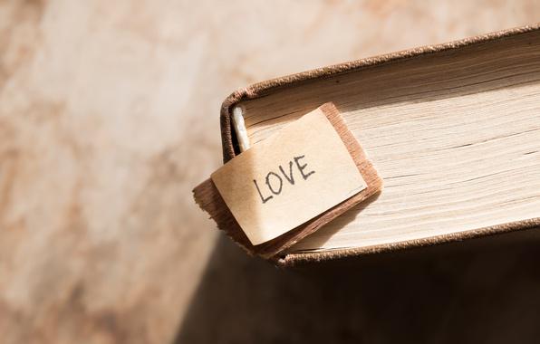 Картинка книга, love, vintage, i love you, heart, romantic, book
