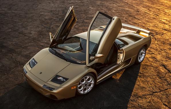 Фото обои Lamborghini, суперкар, Diablo, ламборгини, диабло